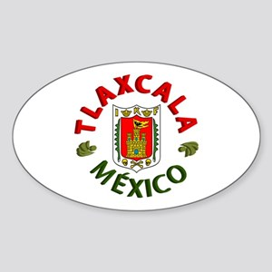 Tlaxcala Oval Sticker