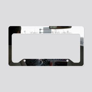 Beijing taxi License Plate Holder