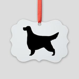 Gordon Setter Picture Ornament