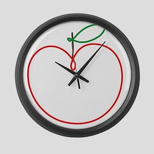 Juicy Apple Large Wall Clock