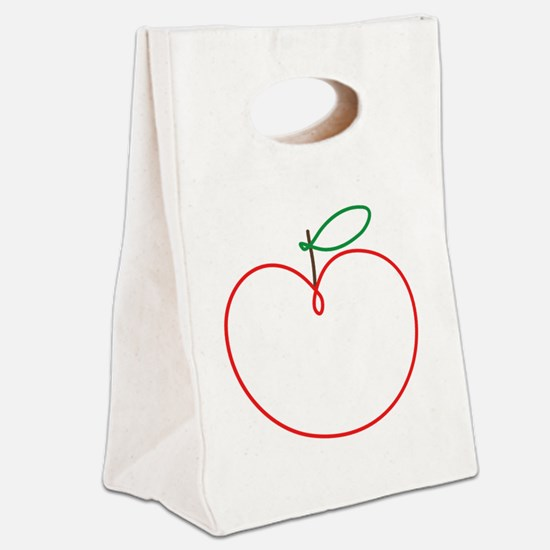 Juicy Apple Canvas Lunch Tote
