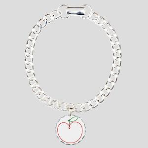 Juicy Apple Charm Bracelet, One Charm