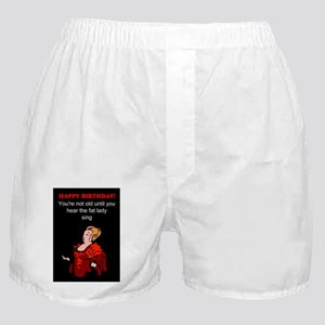 Funny Happy birthday Boxer Shorts