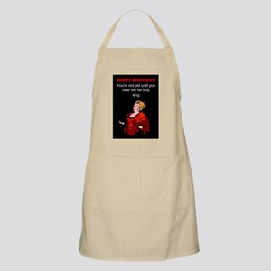 Funny Happy birthday Apron