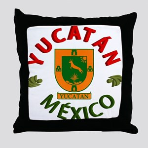 Yucatán Throw Pillow