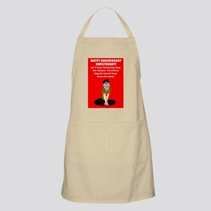 Bible wedding anniversary Apron