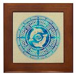 Celtic Dolphins Framed Tile