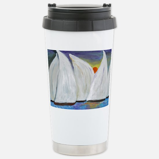 Regatta Sunset Stainless Steel Travel Mug