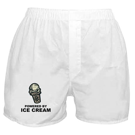 Powered By Ice Cream Boxer Shorts