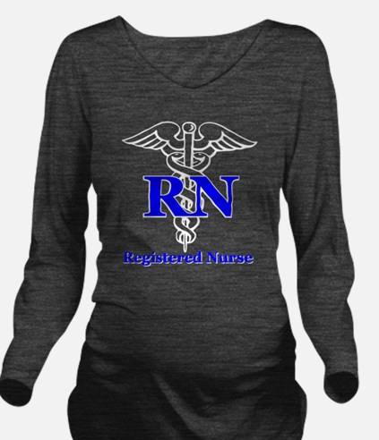 Bachelors of Nursing Long Sleeve Maternity T-Shirt