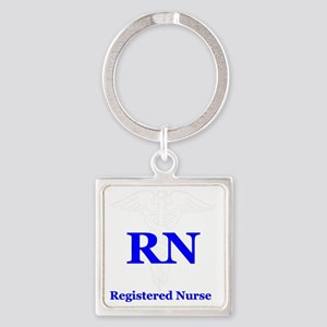 Bachelors of Nursing Square Keychain