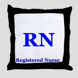 Bachelors of Nursing Throw Pillow