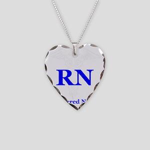 Bachelors of Nursing Necklace Heart Charm