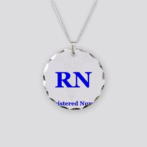 Bachelors of Nursing Necklace Circle Charm
