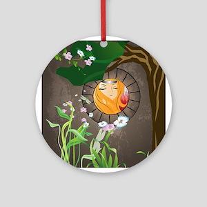 Fairy, Sweet princess Ornament (Round)