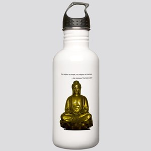 Buddha with Dalai Lama Stainless Water Bottle 1.0L