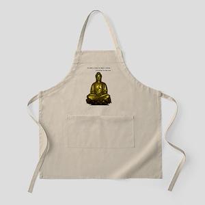 Buddha with Dalai Lama Quote Apron
