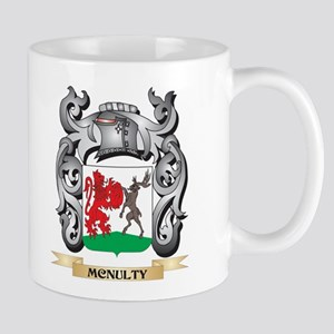 Mcnulty Coat of Arms - Family Crest Mugs