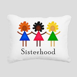 Classic Sisterhood Rectangular Canvas Pillow