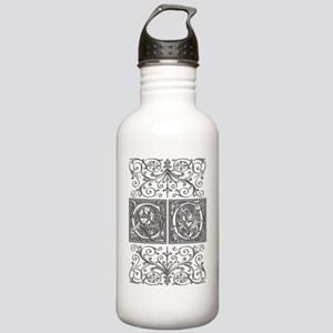 CO, initials, Stainless Water Bottle 1.0L