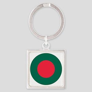Bangladesh Square Keychain