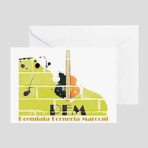 Premiata Forneria Marconi Greeting Card