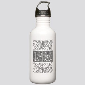FU, initials, Stainless Water Bottle 1.0L