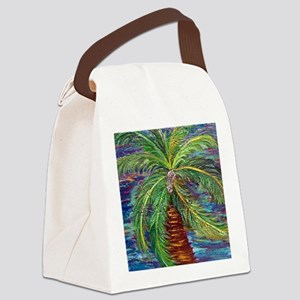 Funcky Palm Tree Canvas Lunch Bag