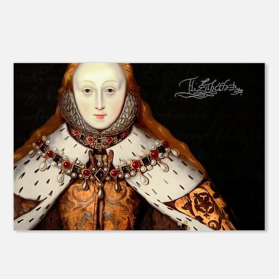 Elizabeth I Coronation Postcards (Package of 8)
