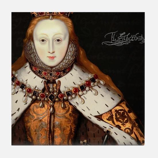 Elizabeth I Coronation Tile Coaster