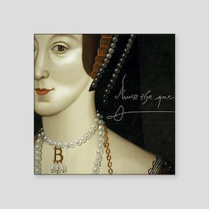 """Anne Boleyn Square Sticker 3"""" x 3"""""""
