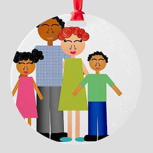 Family Round Ornament