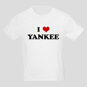 I Love YANKEE Kids T-Shirt