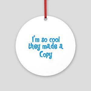 TwinBaby Copy Ornament (Round)
