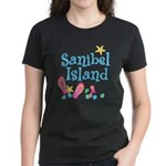Sanibel Island - Women's Dark T-Shirt