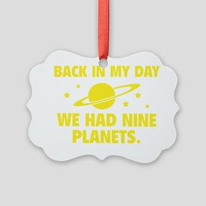 nineplanetss1E Picture Ornament