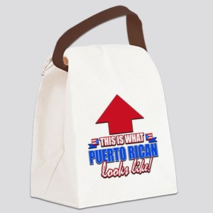 This is what Puerto rican Canvas Lunch Bag