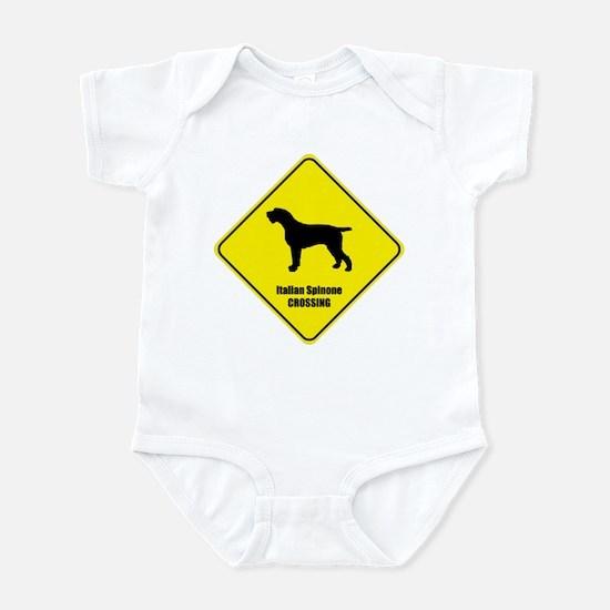 Spinone Crossing Infant Bodysuit