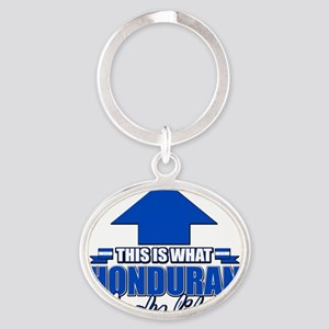 This is what Honduran looks like Oval Keychain