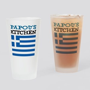 Papous Kitchen Apron Drinking Glass