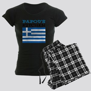 Papous Kitchen Apron Women's Dark Pajamas