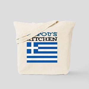 Papous Kitchen Apron Tote Bag