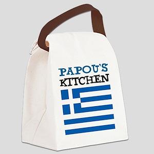 Papous Kitchen Apron Canvas Lunch Bag