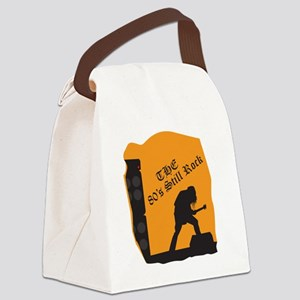 80s Still Rock Canvas Lunch Bag