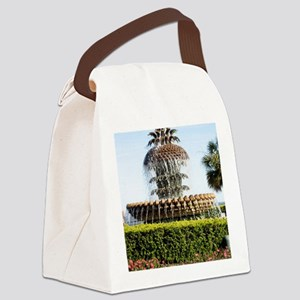 Charleston SC Waterfront Park Canvas Lunch Bag