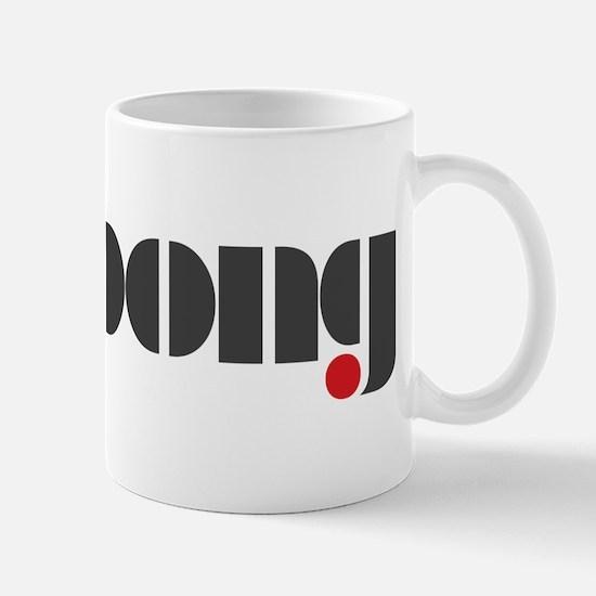 Ping Pong on white Mug