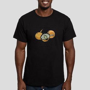 onionsBitc1A Men's Fitted T-Shirt (dark)