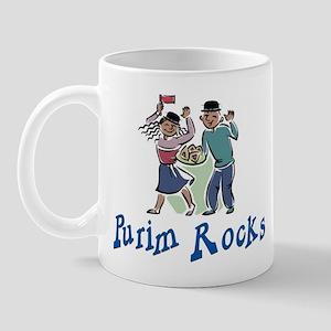Purim Rocks Mug