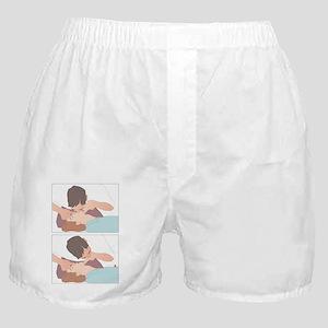 Artificial respiration, artwork Boxer Shorts