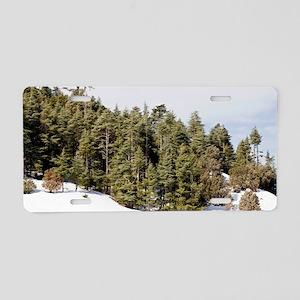 Atlas Cedar forest (Cedrus  Aluminum License Plate